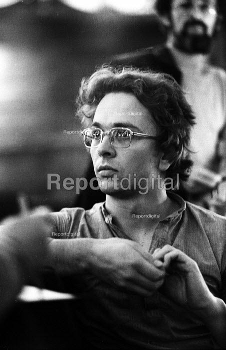 Conductor Mark Elder, Toussaint or The Aristocracy of The skin, World Premiere, English National Opera, London, 1977 - John Sturrock - 1977-09-26