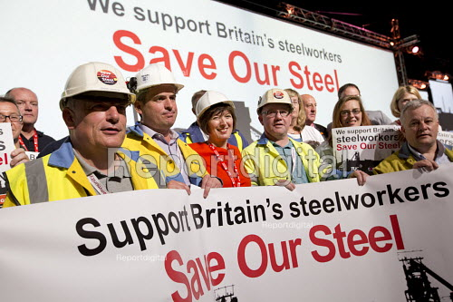 Tata Steel - Save Our Steel Campaign with Frances O'Grady, TUC conference Brighton. - Jess Hurd - 2016-09-11