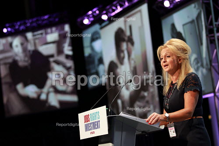 Claire Sullivan CSP speaking TUC conference Brighton. - Jess Hurd - 2016-09-13