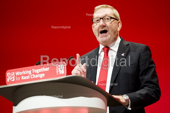 Len McCluskey, UNITE speaking Labour Party conference Liverpool. - Jess Hurd - 2016-09-26
