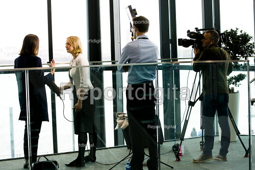 Laura Kuenssberg, BBC political editor interviewing, Labour Party conference Liverpool. - Jess Hurd - 2016-09-26