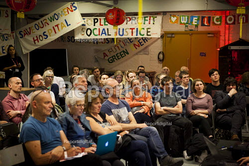 Discussion, workshop The World Transformed, Black-E, Liverpool - connor matheson - 2016-09-24