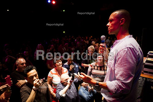 Clive Lewis MP speaking, workshop The World Transformed, Black-E, Liverpool - connor matheson - 2016-09-24