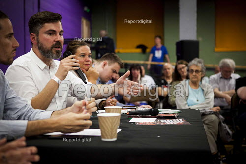 Fabio De Masi MEP Die Linke speaking, workshop, The World Transformed, Black-E, Liverpool - connor matheson - 2016-09-25