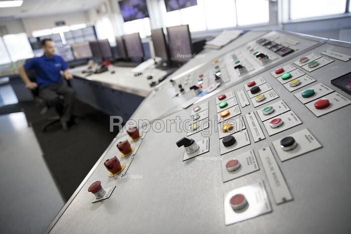 Blast Furnace control room, Tata Steel Port Talbot, South Wales. - Jess Hurd - 2016-09-22