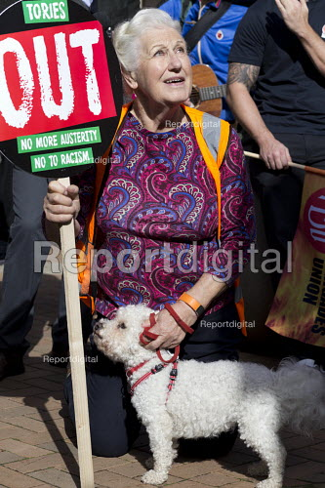 Anti austerity Protest, Tories Out, Austerity has Failed, Victoria Square, Birmingham - John Harris - 2016-10-02
