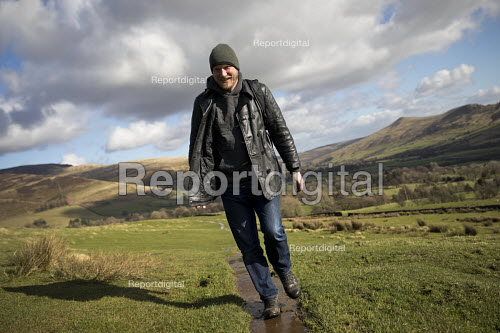 Pennine Way National Trail from Edale in the Peak District, Derbyshire. - Jess Hurd - 2017-02-24