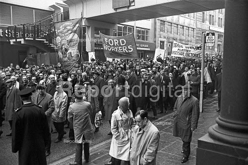 One day strike and protest against the Industrial Relations Bill 1971, Liverpool - NLA - 1971-03-18
