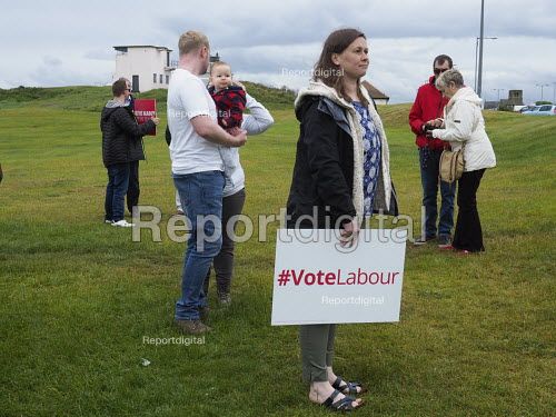 Jeremy Corbyn Labour Party general Election campaign, Blyth, Northumberland - Mark Pinder - 2017-06-05