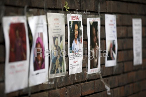 Missing posters, the victims Grenfell Tower Fire, West London. - Jess Hurd - 2017-06-22