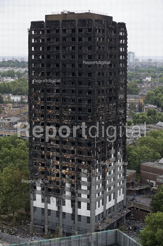 Grenfell Tower Fire, West London - Jess Hurd - 2017-06-22