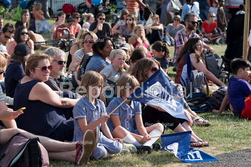Pupils, parents and teachers, Camden NUT rally to against cuts to school funding, Kentish Town, London - Philip Wolmuth - 2017-07-04