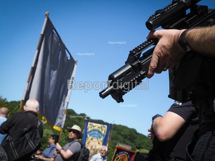 Armed Police, 2017 Durham Miners Gala, Durham - Mark Pinder - 2017-07-08