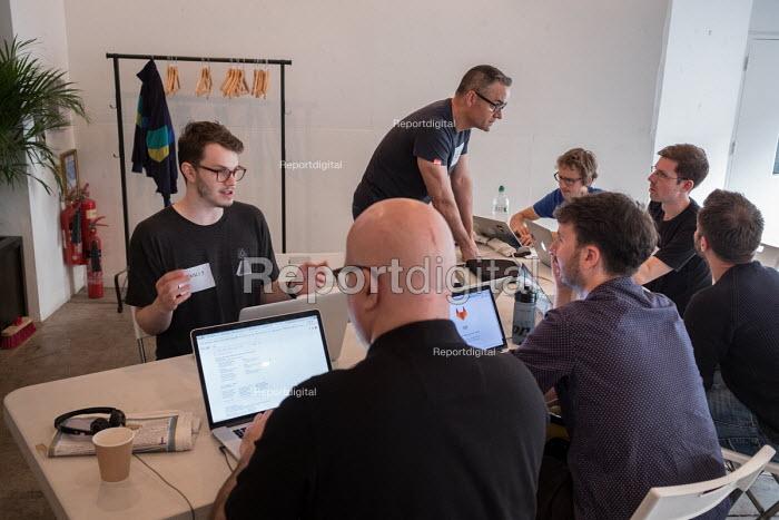 Momentum Hackathon. Collaborative election software development workshop, Shoreditch, London. - Philip Wolmuth - 2017-07-15