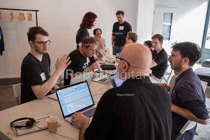 Momentum Hackathon. Collaborative election software development workshop, Shoreditch, London - Philip Wolmuth - 2017-07-15