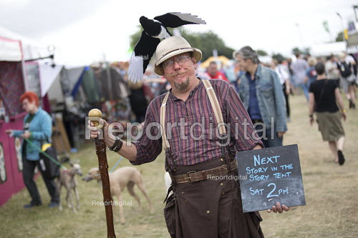 Kids area, Tolpuddle Martyrs Festival, Dorset. - Jess Hurd - 2017-07-16