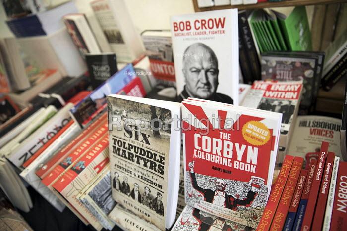 Bookmarks Bookshop, Corbyn Colouring Book, Tolpuddle Martyrs Festival, Dorset. - Jess Hurd - 2017-07-16