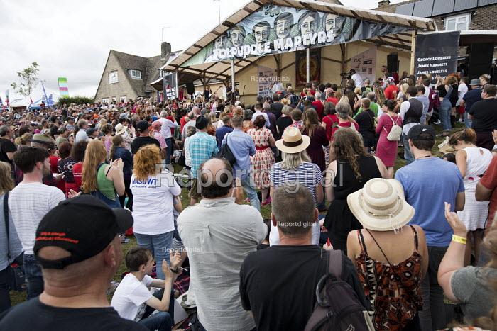 Jeremy Corbyn, Tolpuddle Martyrs Festival, Dorset. - Jess Hurd - 2017-07-16