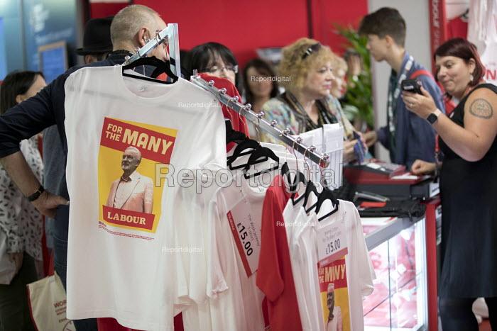 Jeremy Corbyn merchandise, Labour Party Conference, Brighton 2017 - Jess Hurd - 2017-09-24