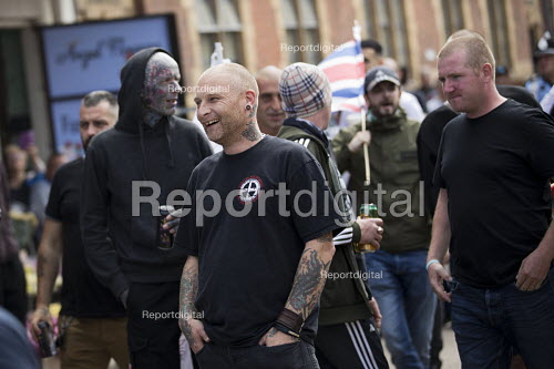EDL national protest Worcester, against a potential mosque countered by an anti fascist March for Unity - Jess Hurd - 2018-09-01