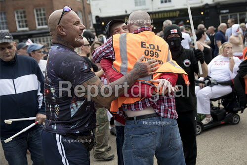 EDL national protest Worcester, against a potential mosque - Jess Hurd - 2018-09-01