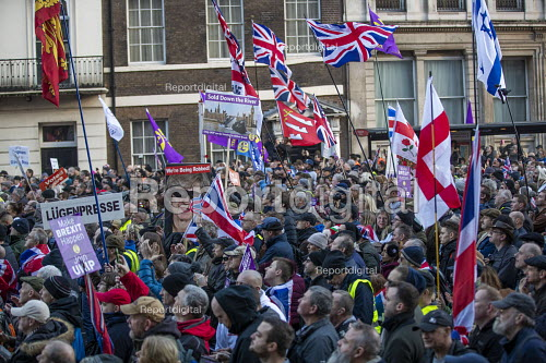 UKIP Brexit Betrayal protest with Tommy Robinson, Whitehall, London - Jess Hurd - 2018-12-09