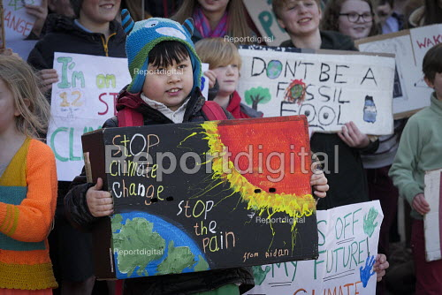 Youth strike against climate change, Newcastle University, Newcastle Upon Tyne - Mark Pinder - 2019-02-15