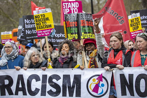Stand Up to Racism march and rally, London. UN Anti Racism Day - Jess Hurd - 2019-03-16