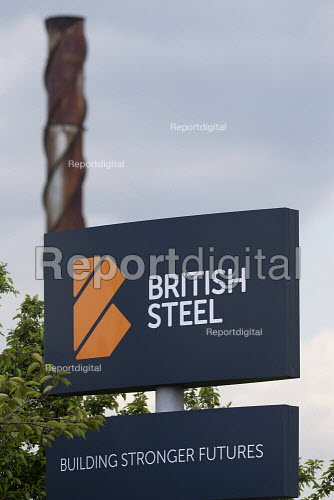 British Steel Scunthorpe. Greybull Capital has put British Steel into receivership. Lincolnshire - John Harris - 2019-05-22