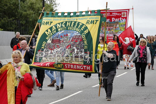 RMT, Orgreave 35th Anniversary Rally, Orgreave, Sheffield, South Yorkshire - John Harris - 2019-06-15