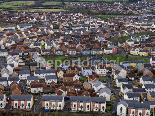 View of new housing, Portishead, Bristol - Paul Box - 2019-01-23