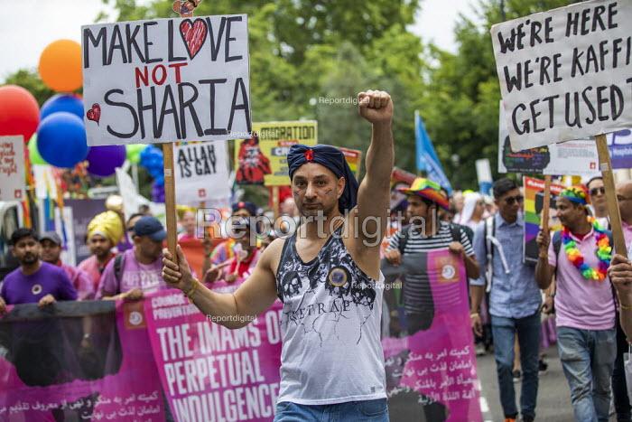 The Imams of Perpetual Indulgence, Pride in London 2019, Make Love Not Sharia - Jess Hurd - 2019-07-06