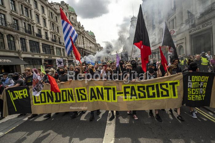 LAFA London Anti Fascist Assembly against Free Tommy Robinson protest, London - Jess Hurd - 2019-08-03