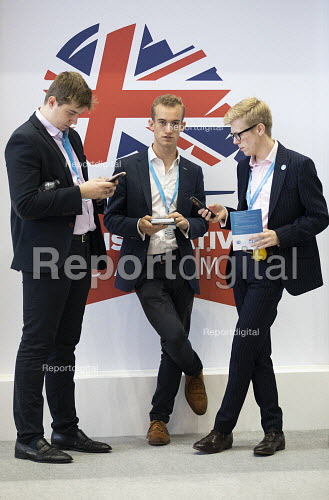 Young Conservatives, Conservative Party Conference, Manchester, 2019 - Jess Hurd - 2019-10-01