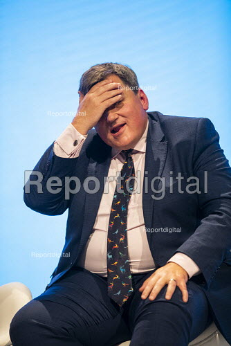 Kit Malthouse speaking, Conservative Party Conference, Manchester, 2019 - Jess Hurd - 2019-10-01