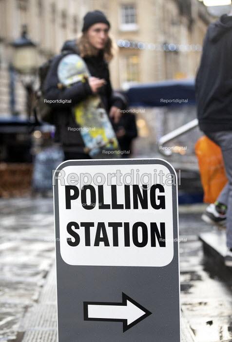 Bristol registry office, Polling Station, Bristol - Paul Box - 2019-12-12