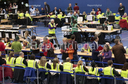 Vote counting, Bristol - Paul Box - 2019-12-12