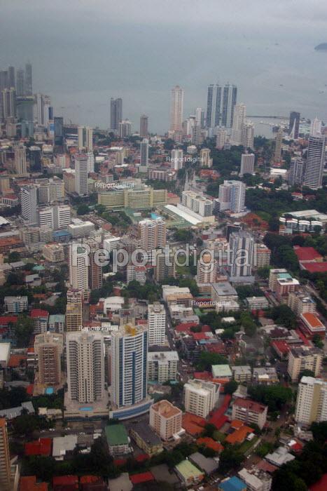 Aerial view of Panama city, Panama - Boris Heger - 2006-08-25