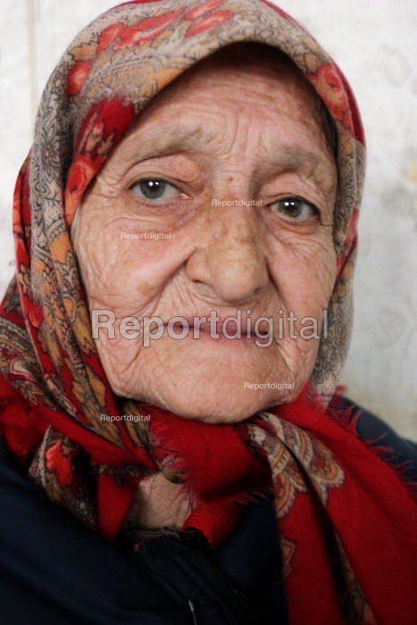 A lady who lost her husband during the war, Grozny, Chechnya, March 2005. - Boris Heger - 2005-03-23
