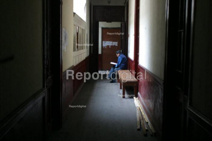 Peruvian Workers' Syndicate headquarters, Lima, Peru, September 2004 - Boris Heger - 2004-08-29