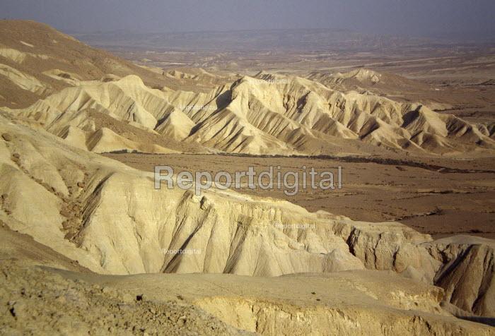 Sandstone, Negev desert, Ein Avdat National Park, Israel, 2007 - Boris Heger - 2007-10-19