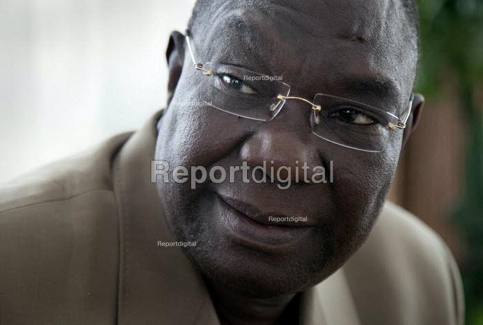 Michel Djotodia, Seleka designated President at home, Bangui, Central African Republic. - Boris Heger - 2013-06-04