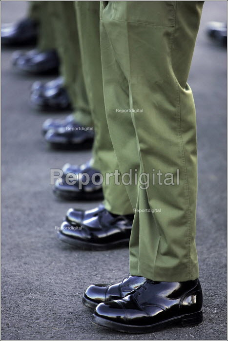Army Recruits undergoing training Infantry Training Centre at Catterick - Christopher Thomond - 2005-11-01
