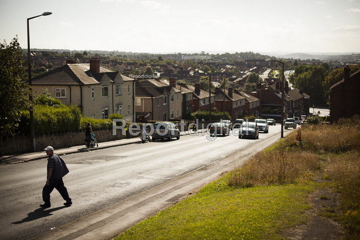A view of typical housing. Thrybergh, Rotherham, South Yorkshire. - Connor Matheson - 2014-08-28