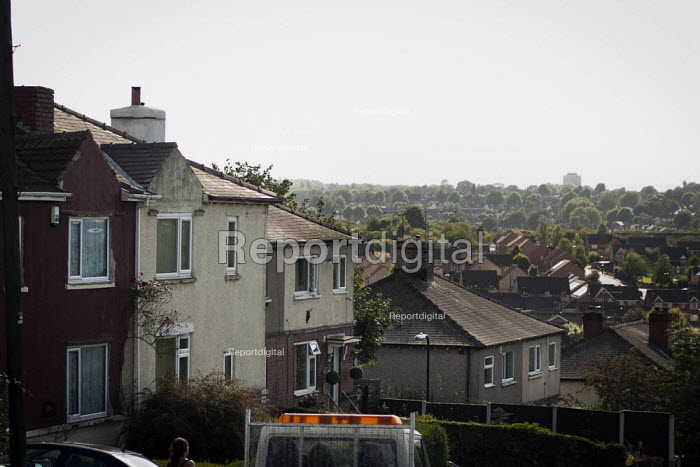 A view of typical housing, Thrybergh, Rotherham, South Yorkshire. - Connor Matheson - 2014-08-28
