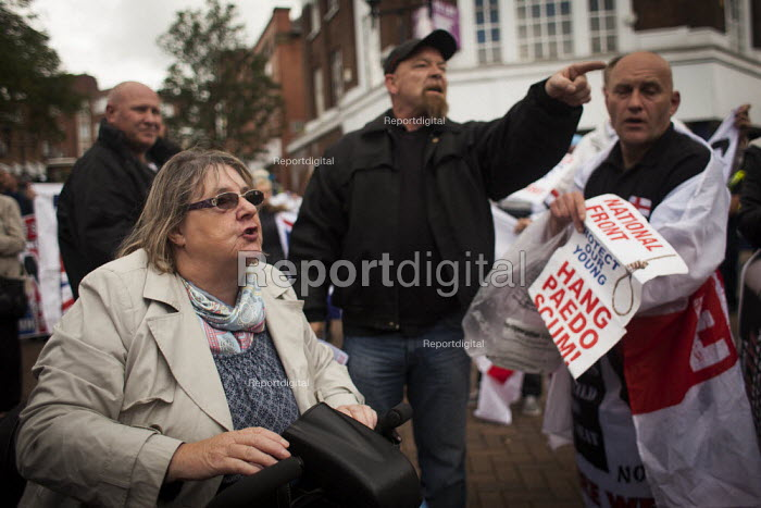 National Front demonstration. Rotherham Centre, South Yorkshire - Connor Matheson - 2014-08-30