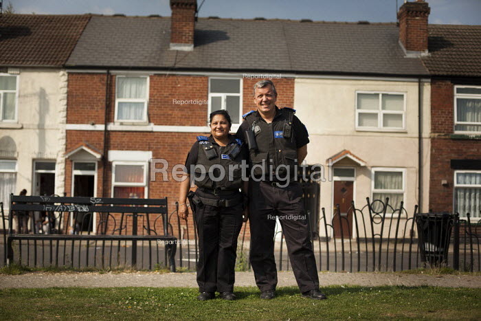 Police community support. Eastwood South Yorkshire. - Connor Matheson - 2014-09-05