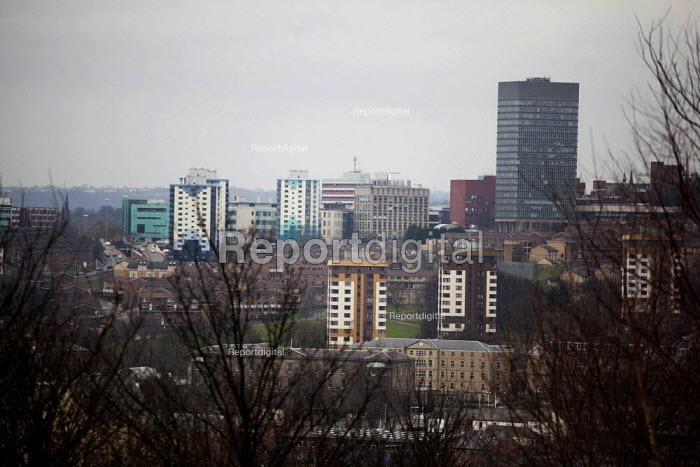 A view of Upperthorpe. Sheffield, South Yorkshire. - Connor Matheson - 2015-03-15