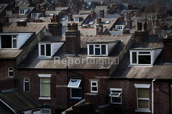 A view of housing with dormer windows. Ecclesall, Sheffield, South Yorkshire. - Connor Matheson - 2015-03-22
