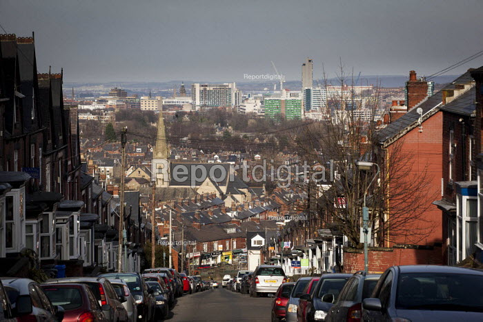 A view of the city from Ecclesall, Sheffield, South Yorkshire.. - Connor Matheson - 2015-03-22